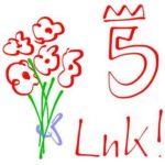 Blume 5 Jahre LnK!